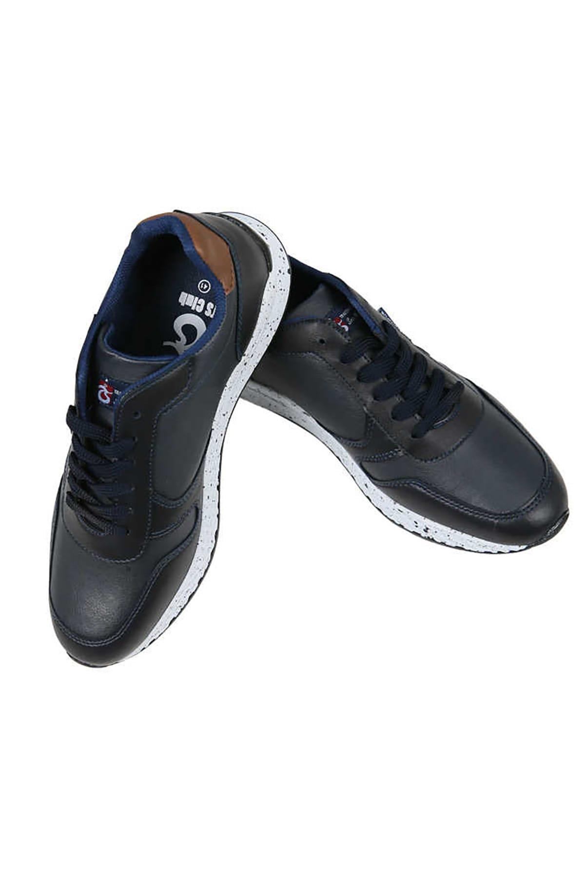 TSCLUB Suni Deri Spor Ayakkabı 1