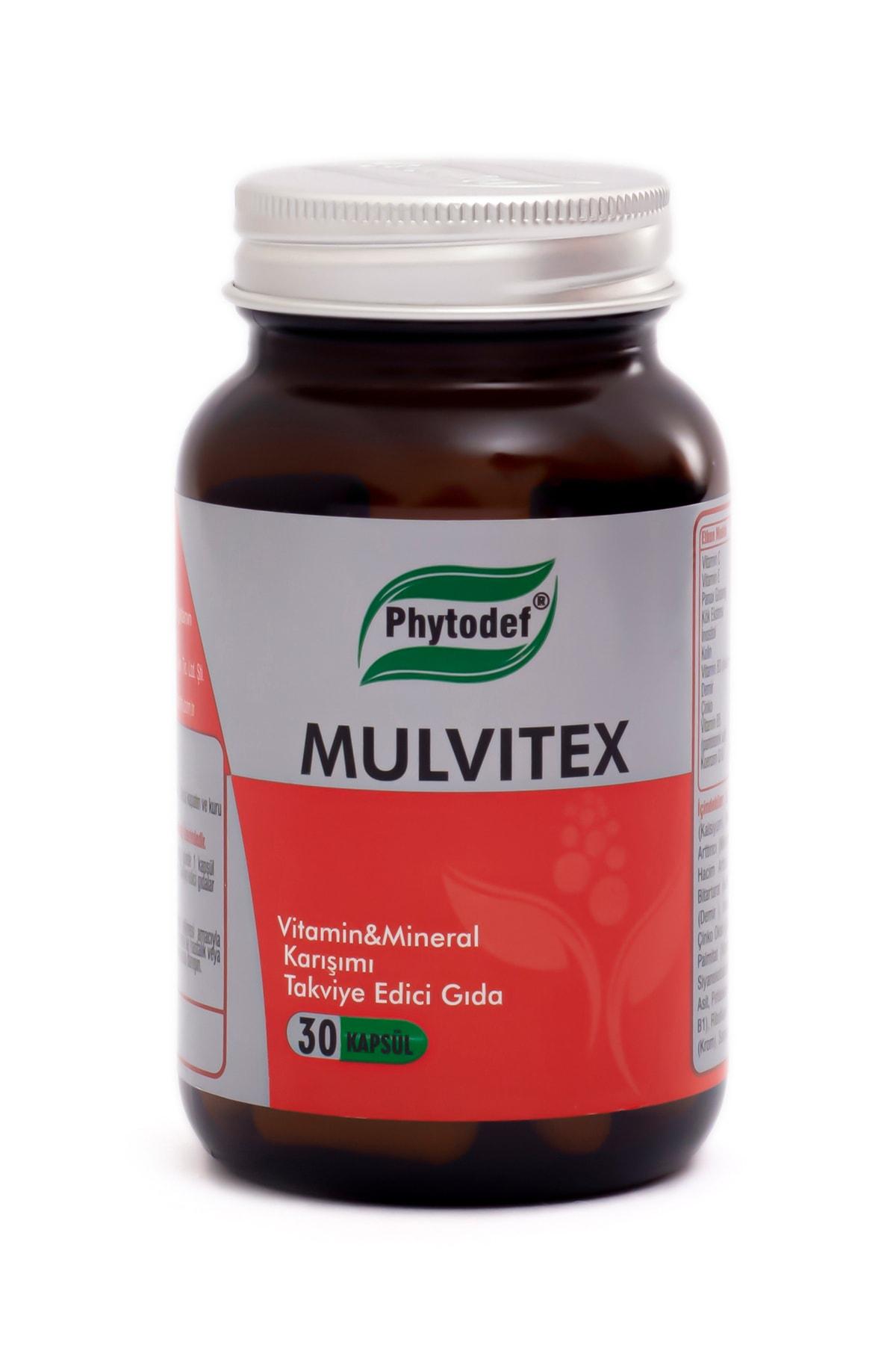 Phytodef Mulvitex Multivitamin - 30 Kapsül 1