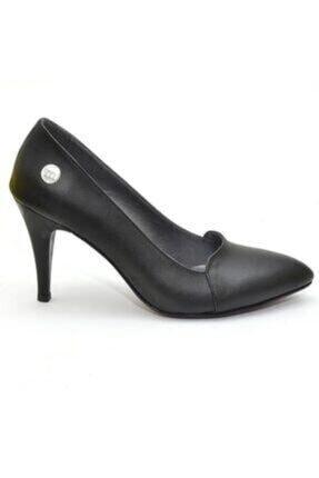 Mammamia Kadın Siyah Topuklu Ayakkabı