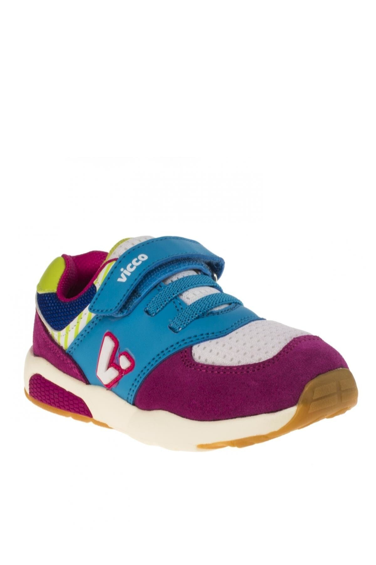 Vicco Erkek Çocuk Mavi-Pembe Ayakkabı 211 34718y152p Sneaker 1