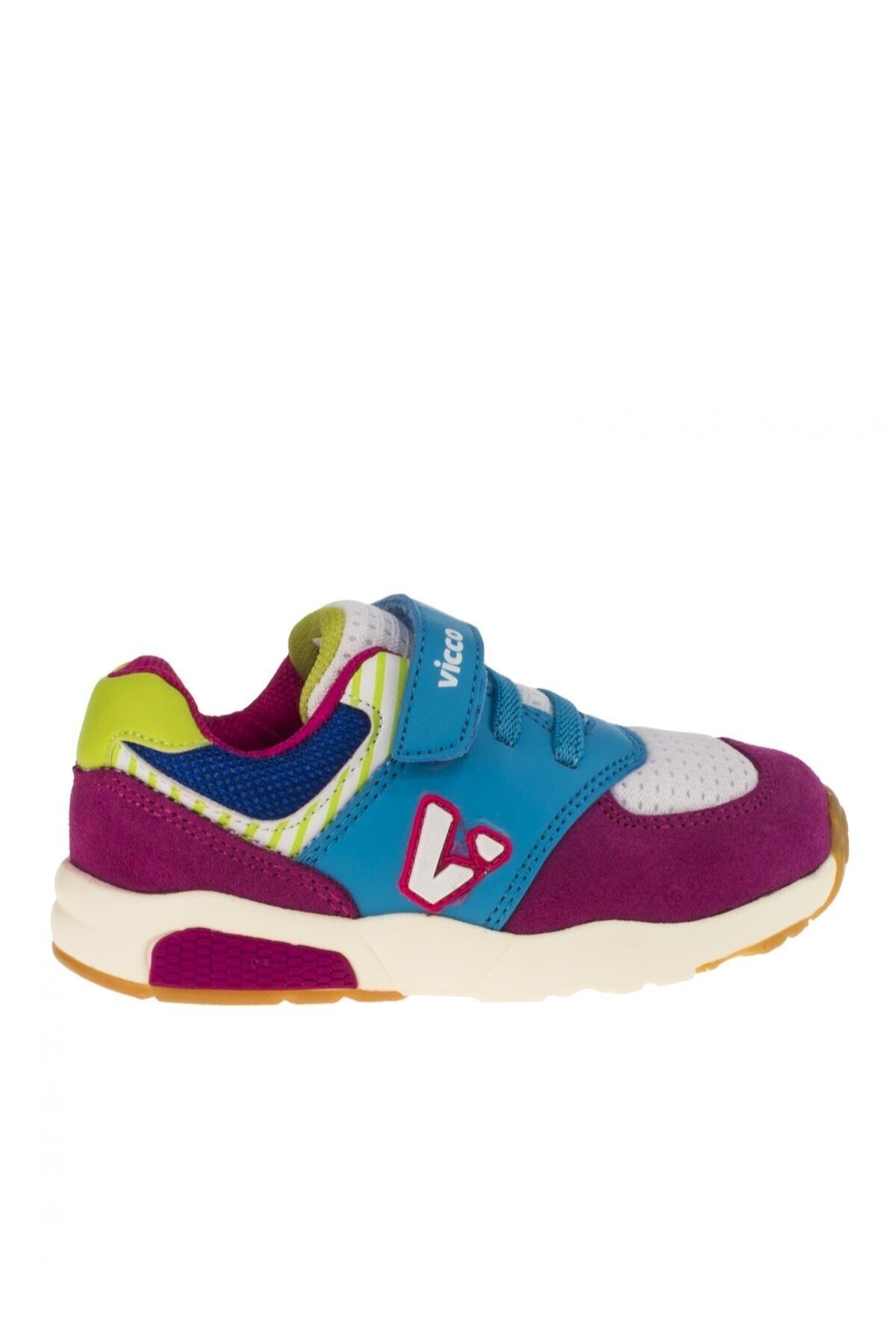 Vicco Erkek Çocuk Mavi-Pembe Ayakkabı 211 34718y152p Sneaker 2