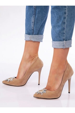 ayakkabıhavuzu Kadın Kahverengi Topuklu Ayakkabı