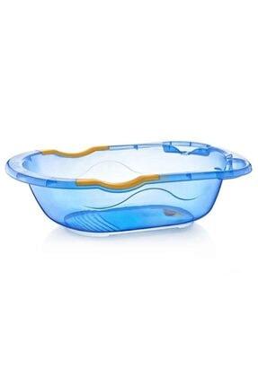 Babyjem Bebek Banyo Küveti Şeffaf Desenli (Giderli) 031 Mavi