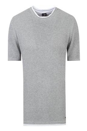 Tween Erkek Gri Triko T-shirt 0tc067300607