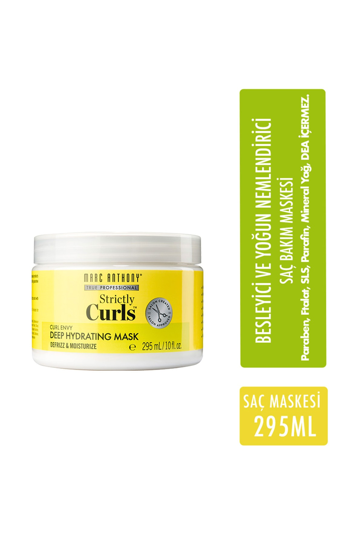 MARC ANTHONY Strictly Curls Nemlendirici Besleyici Maske 295 ml 1
