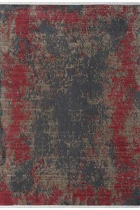Pierre Cardin Halı Bordo Orient Koleksiyonu Ro07c Anti Bakteriyel Toz Vermez Modern Halı