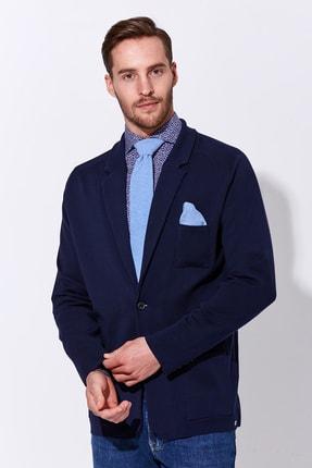 Hemington Erkek  Lacivert Triko Ceket