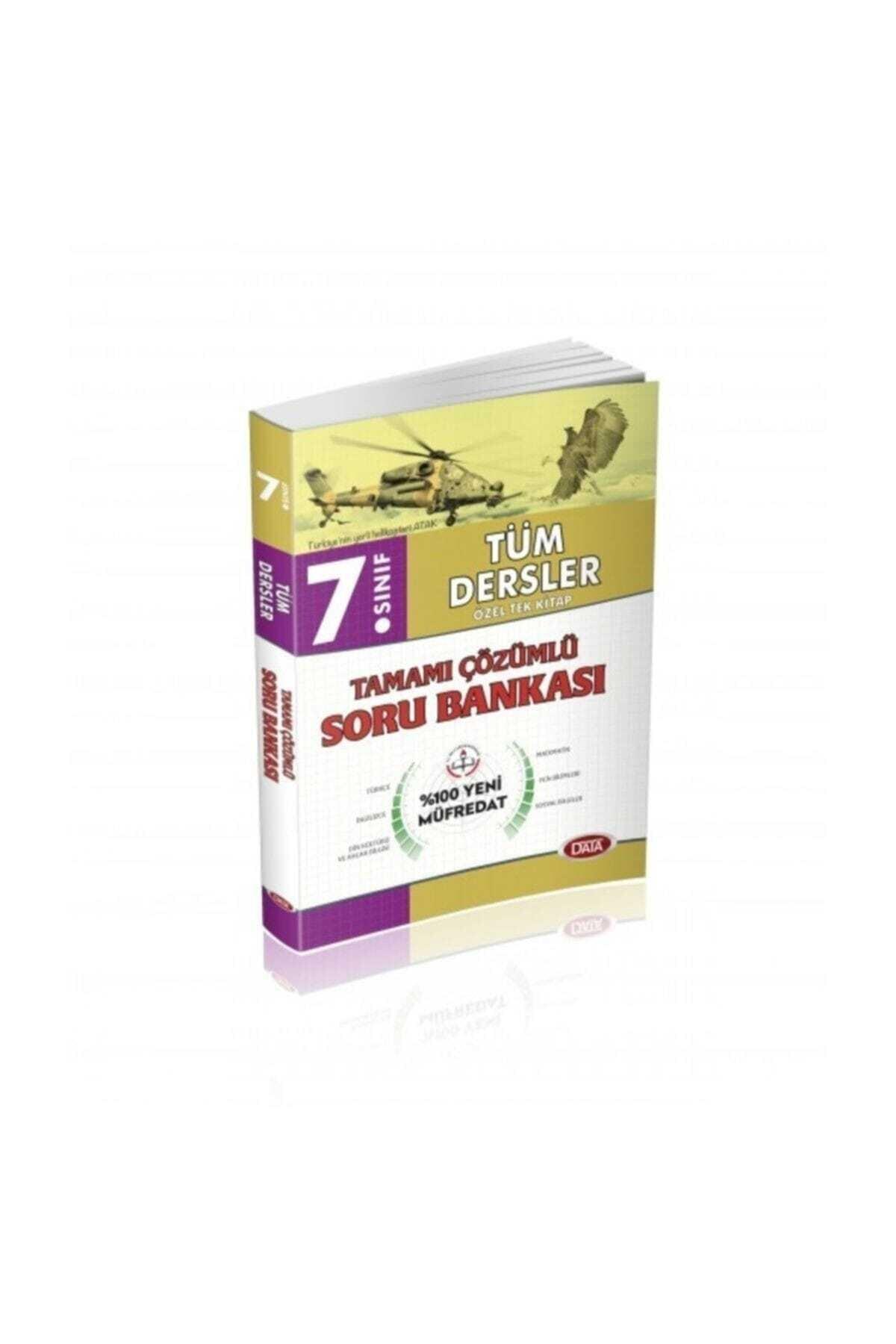 Data Yayınları Data 7. Sınıf Tüm Dersler Soru Bankası 1