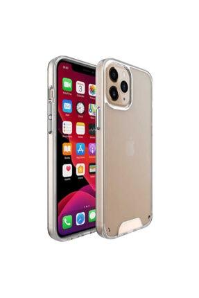 Apple Iphone 12 Pro Max Kılıf Köşeleri Silikon Arkası Sert Dayanıklı Gard Model