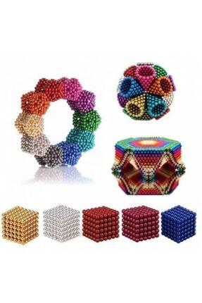 Bomwell 6 Farklı Renkli Sihirli Manyetik Toplar Neodyum Mıknatıs