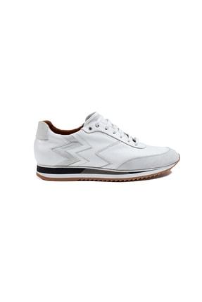 Hemington Beyaz Deri Sneakers