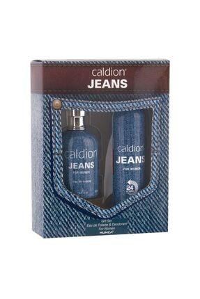 Caldion Jean Edt 100 ml Kadın Parfümü + 150 ml Deodorant Set