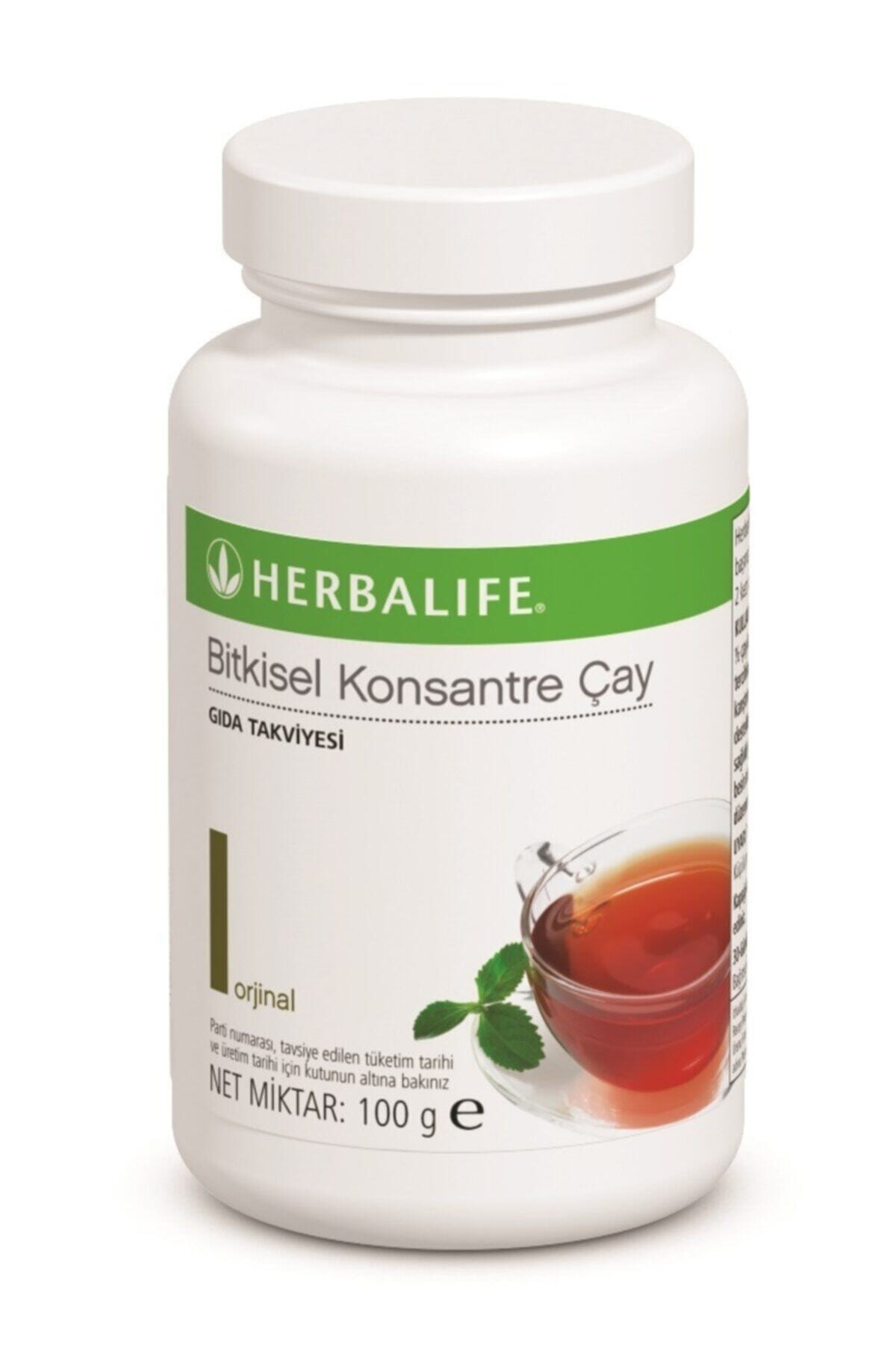 Herbalife Bitkisel Konsantre Çay (klasik Aromalı 100 Gr) 1