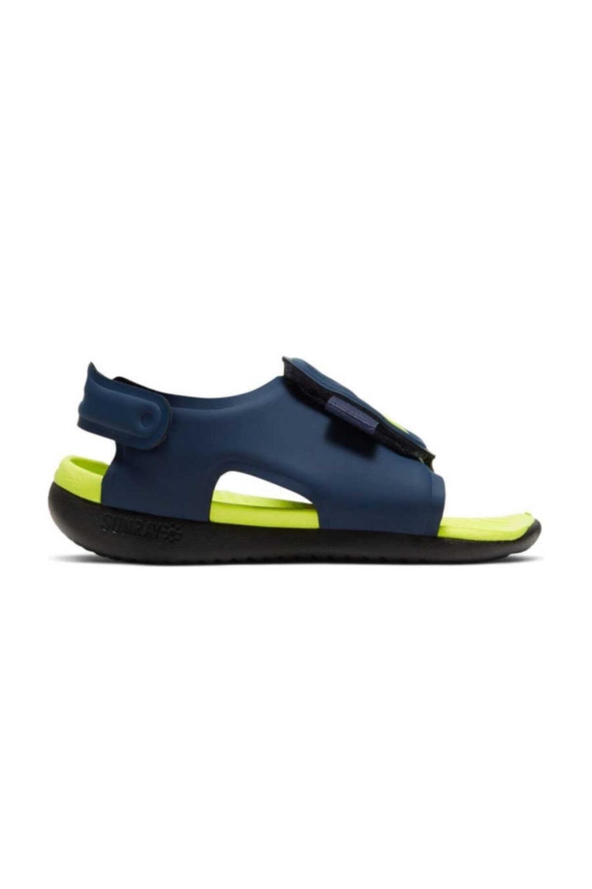 Nike Lacivert Aj9077-401 Sunray Adjust 5 Çocuk Sandalet Aj9077-401 1
