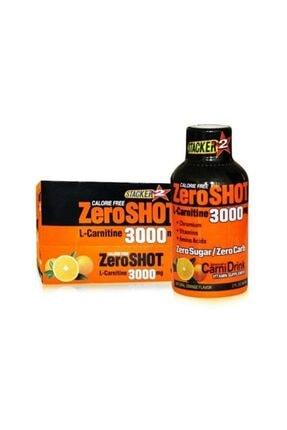 Zero Shot 12 Adet Portakal Aromalı L-carnitine 60 ml 3000mg