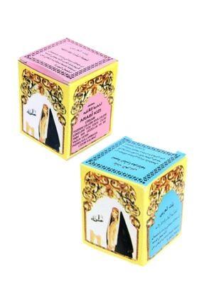 Arap Kızı Kremi Mavi + Pembe 2 Ürün