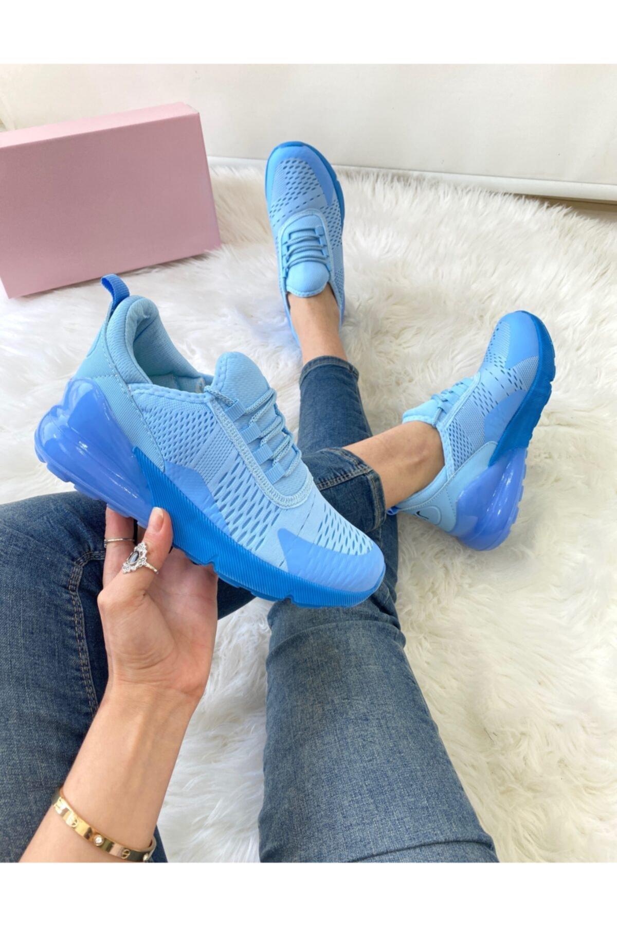ELSESHOES Kadın Mavı Spor Ayakkabı 1