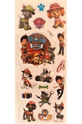 PAW PATROL 3lü Sticker Seti