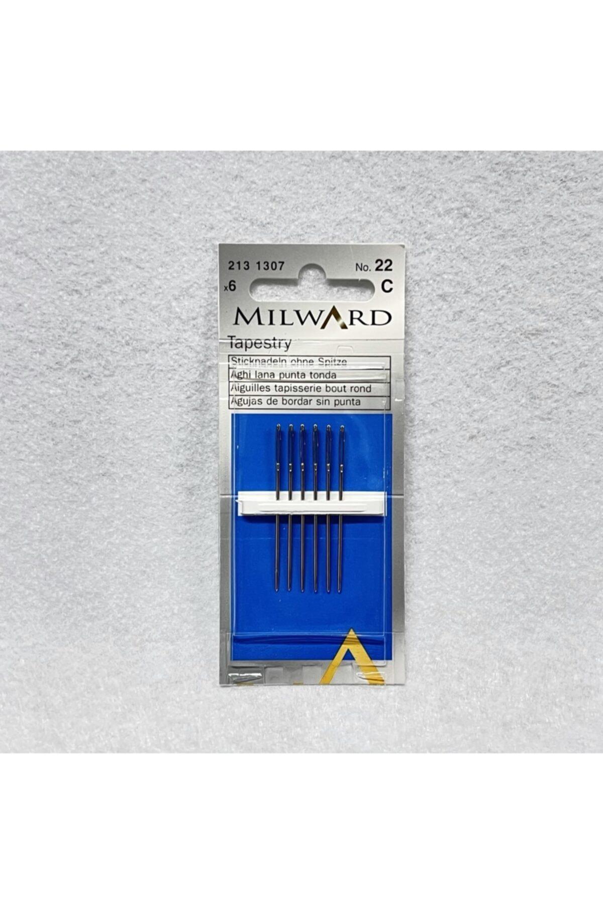 EleganTShoP Milward Etamin Iğnesi No:22 6lı 2131307 1