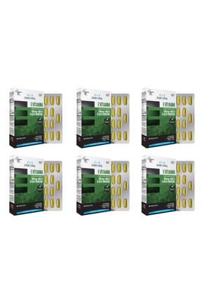 Zade Vital E Vitamini Blister 30 Kapsül 6'lı Paket