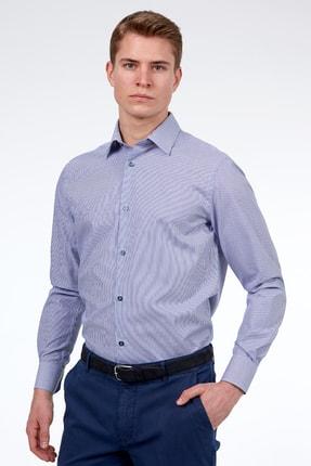 Hemington Lacivert Beyaz Non-ıron Business Gömlek