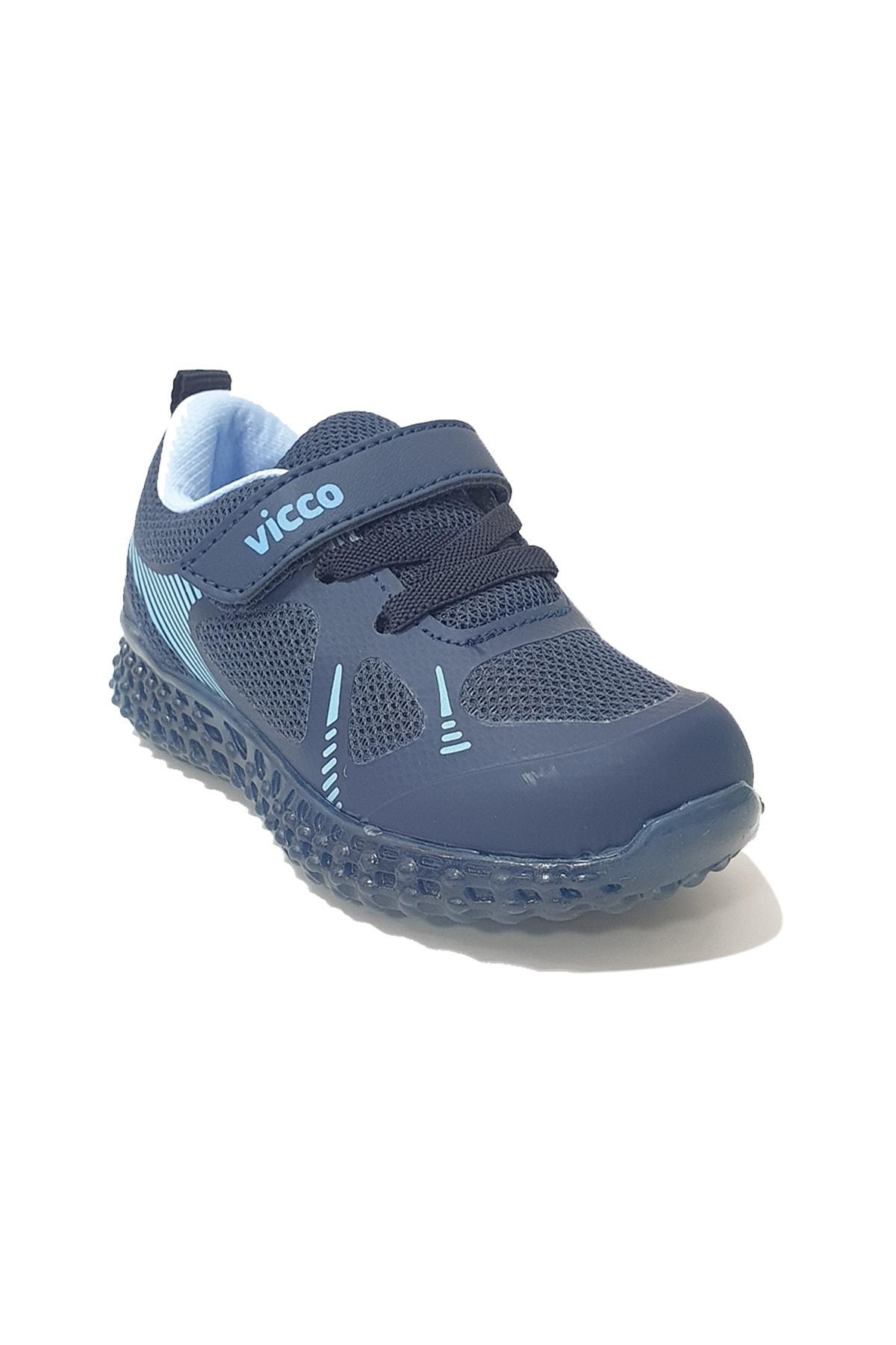 İLHAN PAŞAOĞLU Erkek Çocuk Lacivert Işıklı Spor Ayakkabı 2