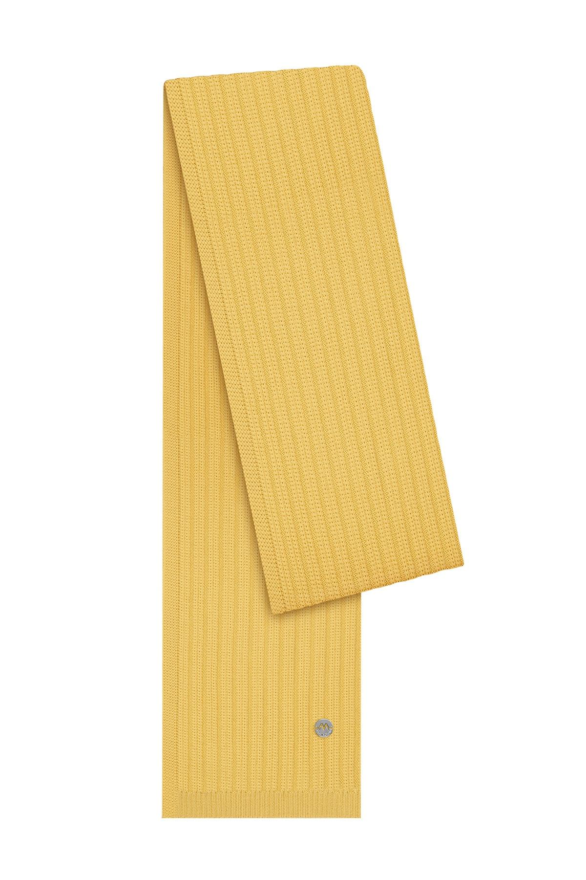 Hemington Erkek Sarı Yün Atkı 1
