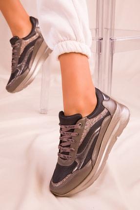 SOHO Platin Kadın Sneaker 15950