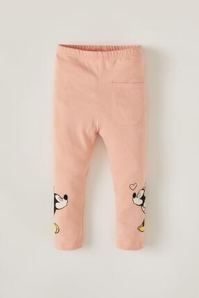 DeFacto Kız Bebek Minnie Mouse Lisanslı Uzun Tayt