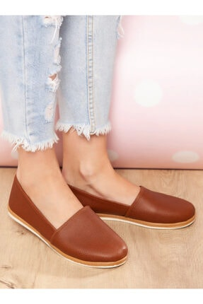 ayakkabıhavuzu Kadın Taba Günlük Ayakkabı