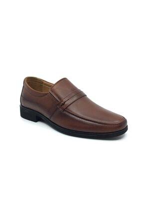 Taşpınar Erkek Taba Hakiki Deri Ortopedik Günlük Klasik Ayakkabı 40-44