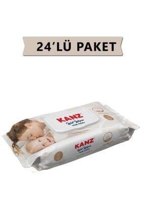 Kanz Islak Havlu Mendil Ultra Soft Yenidoğan 72 Li X24 Paket