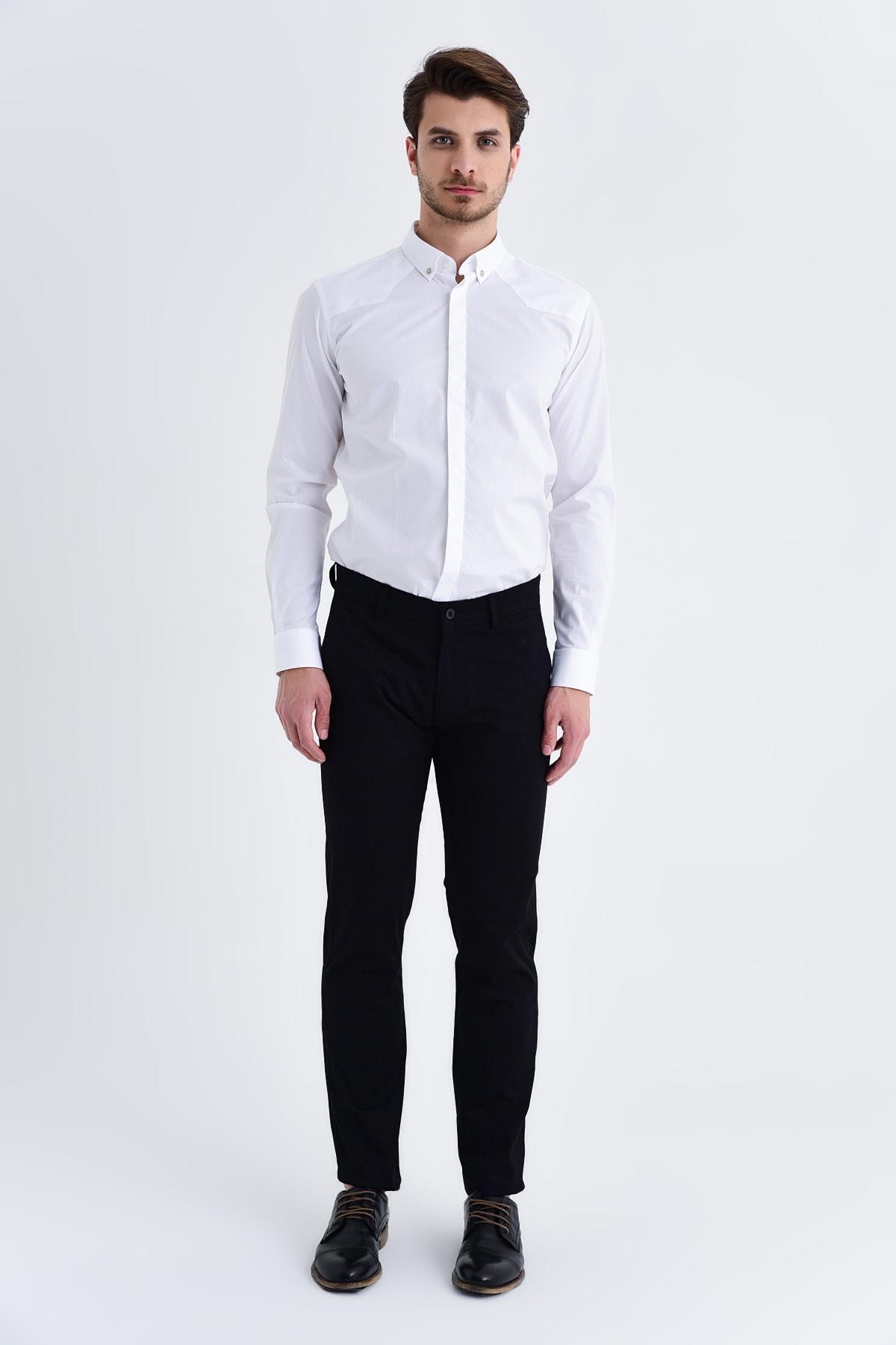 Hatemoğlu Regular Siyah Pantolon 29261019B003 2