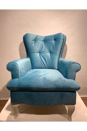 İSTİKBAL Mavi Dinlenme Klasik Berjer