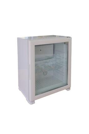 MN Soğutma Mn Nh 60 Litre Cam Kapı Mini Bar Beyaz Mnc60nhnmb