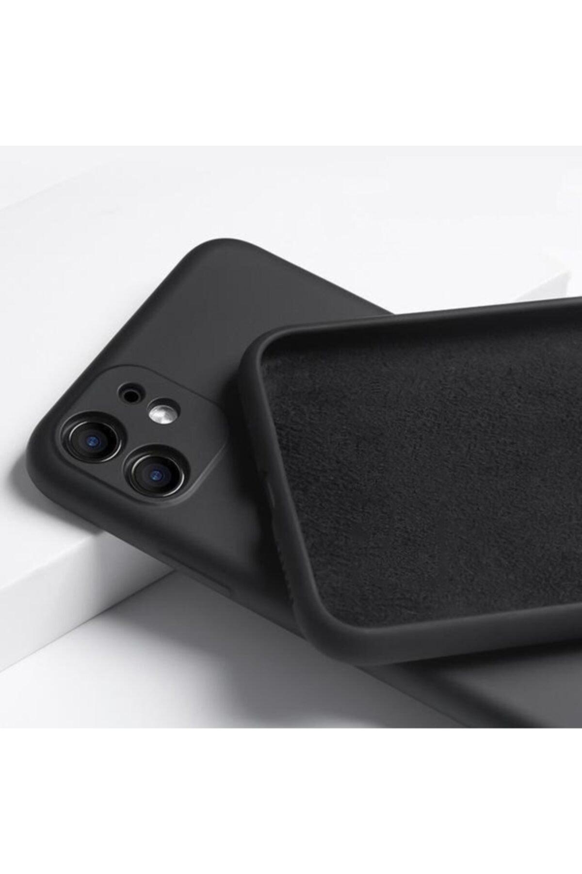 """Teknoçeri Iphone 11 6.1"""" 3d Kamera Korumalı Içi Kadife Lansman Silikon Kılıf 2"""