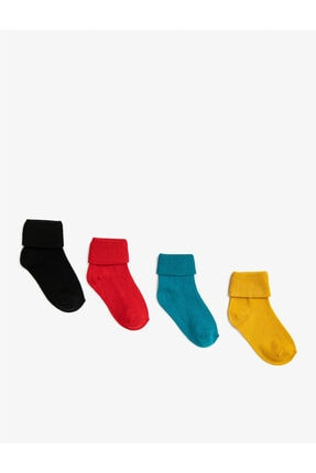 Koton Erkek Bebek Basic Çorap Seti Pamuklu 4'lü