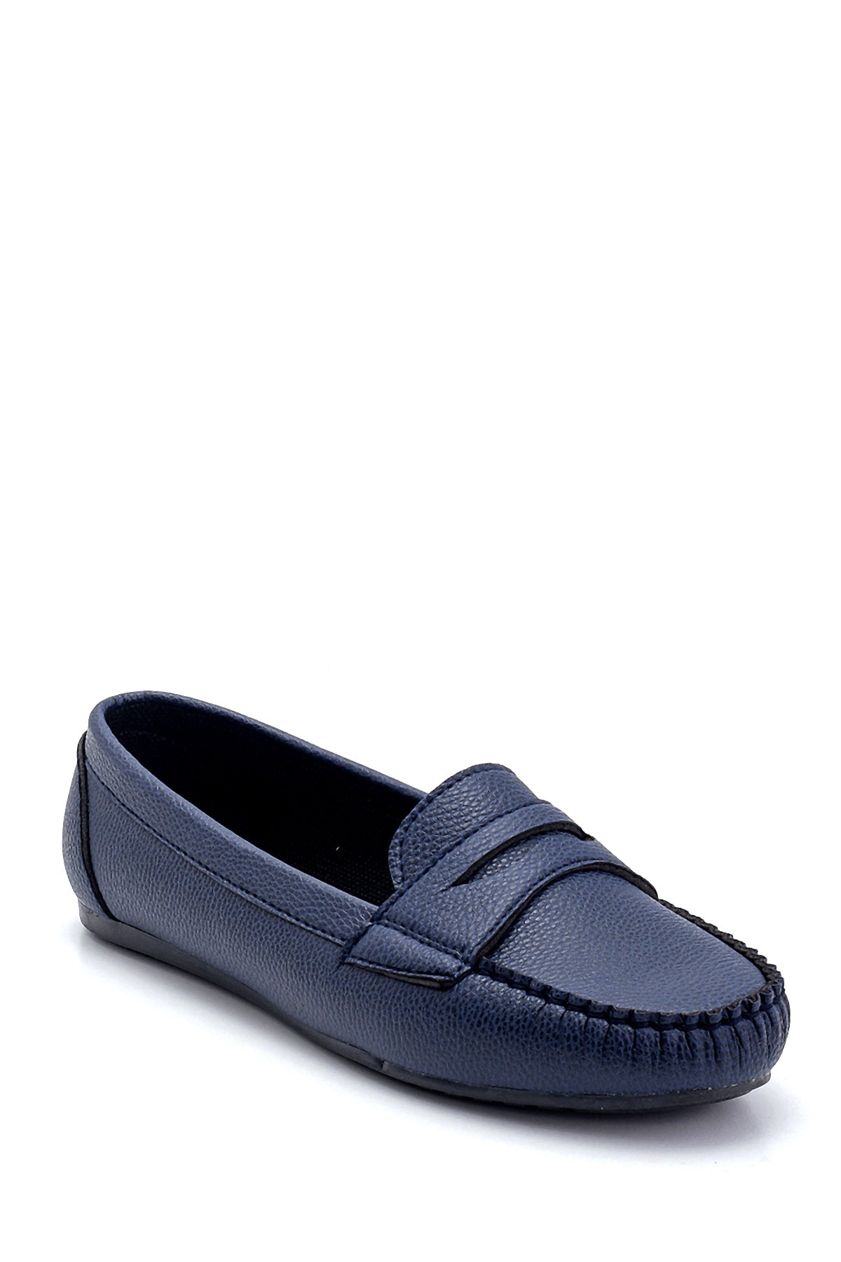 Derimod Kadın Lacivert Loafer Ayakkabı 2