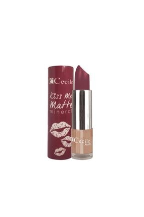 Cecile Kiss Me Matte Mineral Mat Ruj 316