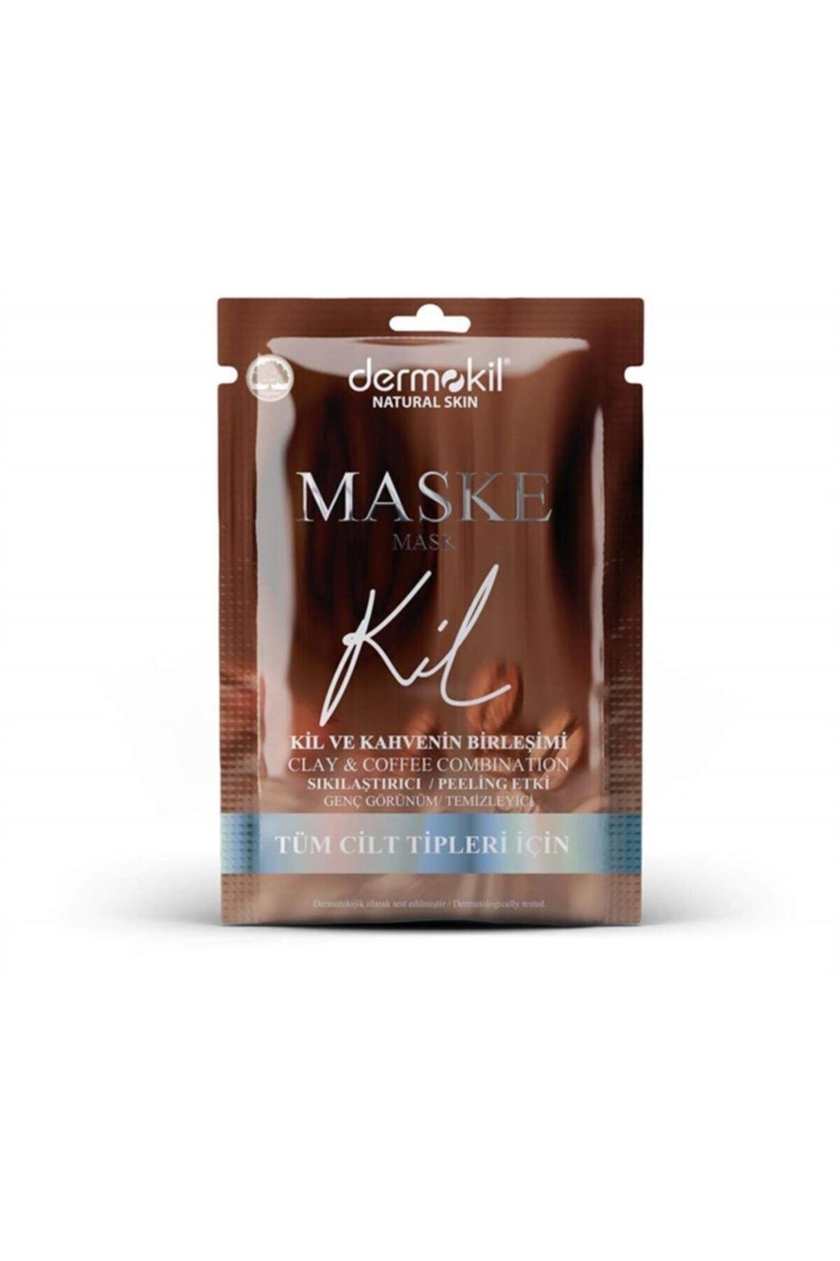 Dermokil Natural Sıkılaştırıcı Genç Görünüm Için Kil Ve Kahve Maskesi 15 ml 1