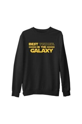 Lord T-Shirt Erkek Siyah Star Wars - Best Father Kalın Sweatshirt