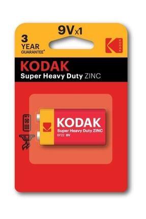 Kodak Çinko Karbon Blister 9 Volt Pil