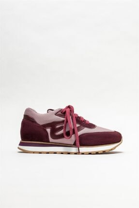 Elle Shoes Bordo Kadın Spor Ayakkabı