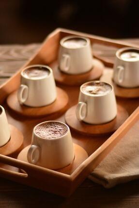 Bambum Ottoman 6 Kişilik Kahve Takımı B0173