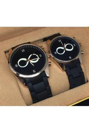 Spectrum Sonsuzluk Temalı Çift Sevgili Saatleri Sevgiliye Hediye Erkek Bayan Saat Kombini Doğum Günü Hediyesi