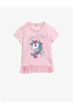 Koton Kız Bebek Pembe Tshirt