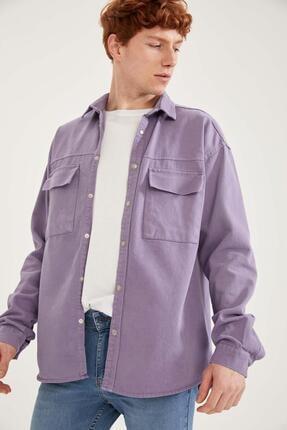 DeFacto Oversize Fit Uzun Kollu Gömlek Ceket