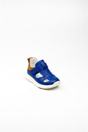 Vicco Erkek Sax Mavi Deri Ilk Adım Ayakkabısı