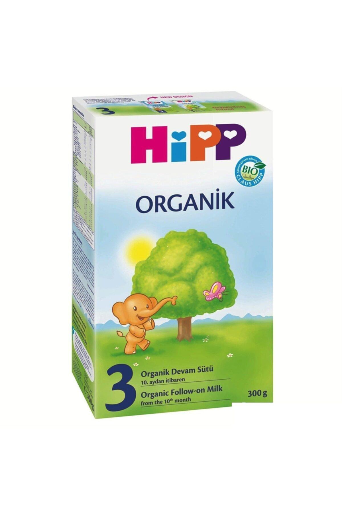 Hipp 3 Organik Devam Sütü 300 gr 1