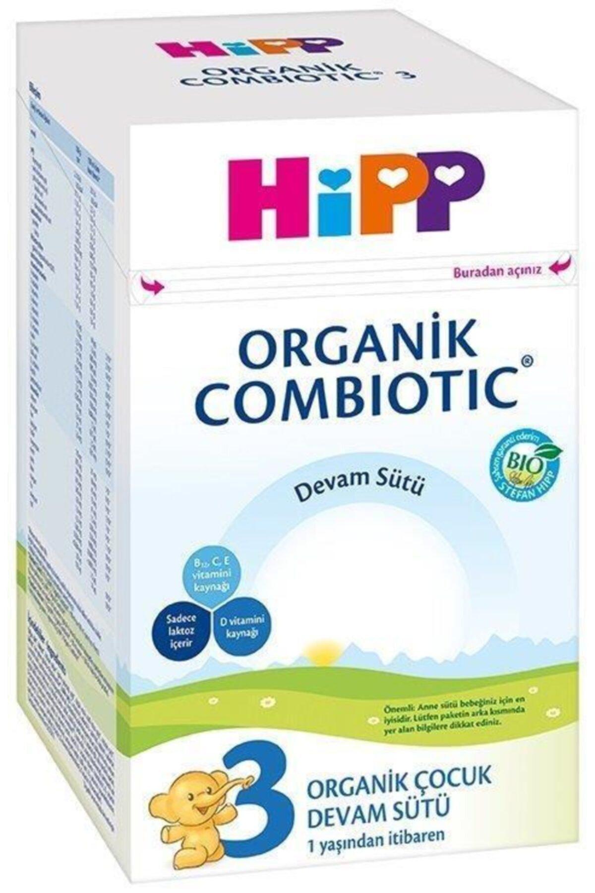 Hipp 3 Organik Combiotic Bebek Sütü 800 gr 1